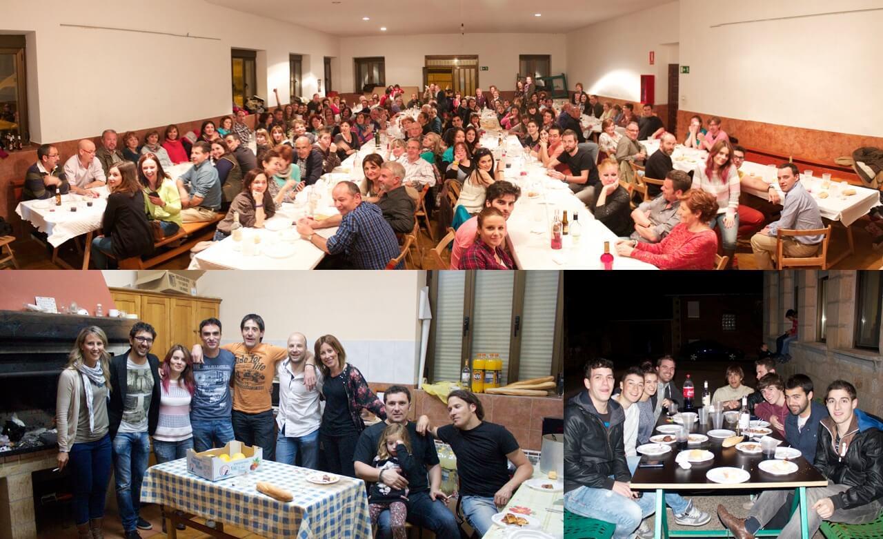 Cena comunitaria de Semana Santa 2014