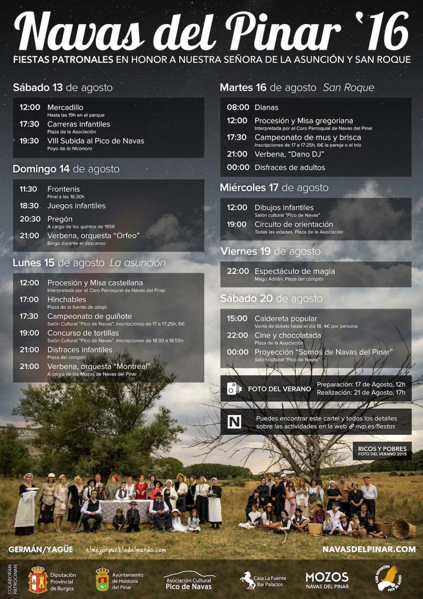 Cartel de Fiestas 2016